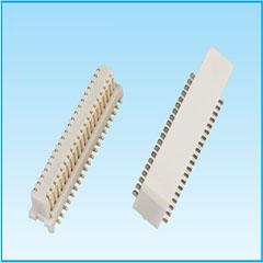 0.5间距 合高5.0 侧插 板对板连接器