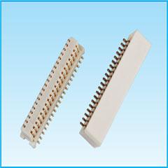 0.8间距 合高5.0 侧插 板对板连接器